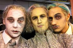 Male ancestors from Addams Family Musical
