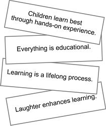 Unschooling Cards from the Natural Child Project!  we own these cards .. love them