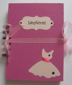 Ajándék a menyasszonynak a lányoktól - borítékalbum