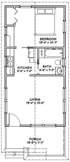 16x36 Cabin Floor Plans
