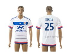 http://www.xjersey.com/201516-lyon-25-benzia-home-thailand-jersey.html 2015-16 LYON 25 BENZIA HOME THAILAND JERSEY Only 33.11€ , Free Shipping!