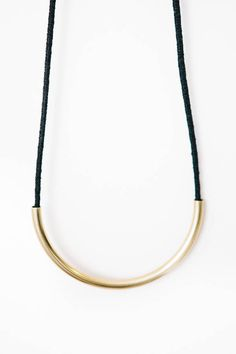 Maslo Jewelry Brass Standard Necklace – Parc Boutique