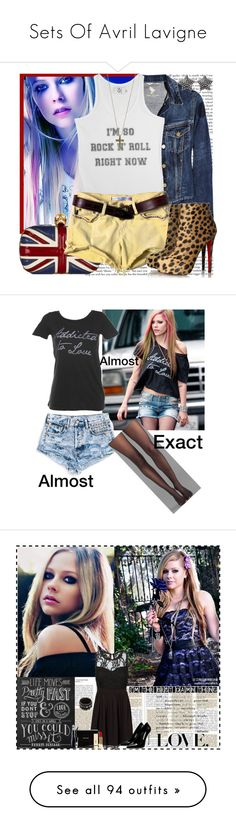 Sets Of Avril Lavigne by dany-lachikasagitario on Polyvore featuring polyvore, Mode, style, MiH Jeans, Alexander McQueen, Zoe Karssen, Just Female Acces, Jane Norman, fashion, women's clothing, women's fashion, women, female, woman, misses, juniors, rocker chic, avril lavigne, Chaser, Wolford, Lily & Val, Vero Moda, MANGO, Gianmarco Lorenzi, Valentino, Lancôme, PUR, AvrilLavigne, Tasha, bleu, Forum, Notte by Marchesa, Vieta, Arden B., Tarina Tarantino, GAB, COVERGIRL, Maison Michel…
