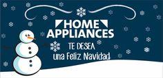 Feliz Navidad te desea Home Appliances