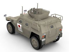 JGSDF Komatsu LAV r commercial paper model from my old site, julescrafter.com and now I share it for free. This light armored vehicle was my first design of wheeled vehicle. It comes with 1/28 scale. The Komatsu LAV was developed in 1997 to meet a JGSDF need for an armored wheeled vehicle that could provide armored protection since their Toyota High Mobility Vehicles and Mitsubishi Type 73 Light Trucks  were not adequate to provide protection