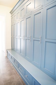 Mud Room - like the idea of a bench below the storage