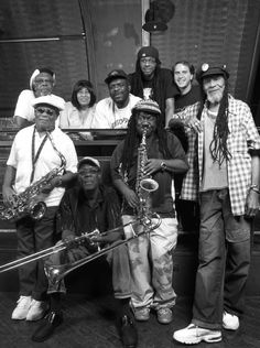 The Skatalites: pioneers of Jamaican's music with me Dub Music, Reggae Music, Black Music Artists, Jamaica Music, Ska Punk, Reggae Artists, Dancehall Reggae, Caribbean Culture, Northern Soul