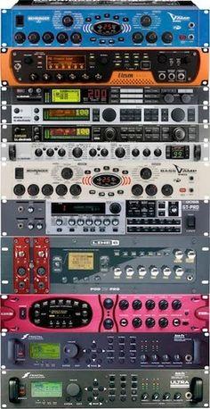 "EurekaSound, home of the EurekaPROM for the TapTrigger, Baitar & Buitar. EurekaSound makes ""Why hasn't anyone thought of this before? Music Studio Room, Studio Setup, Recording Equipment, Dj Equipment, Audio Sound, Sound Of Music, Diy Pedalboard, Music Mixer, Guitar Rig"