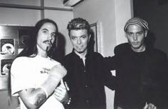 Anthony Kiedis, NY 1997 Best known as the vocalist/lyricist of the band Red Hot Chili Peppers. David Bowie and Johnny Depp.