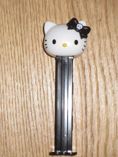 PEZ Spender Hello Kitty schwarz in Sammeln & Seltenes, Weitere Sammelgebiete, PEZ | eBay