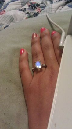 Show me your non-diamond engagement rings!! « Weddingbee Boards