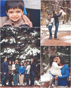 Extended Family in the Snow, Sneak Peeks | North Oaks, Minnesota Child & Family Photographer | mQn Photography