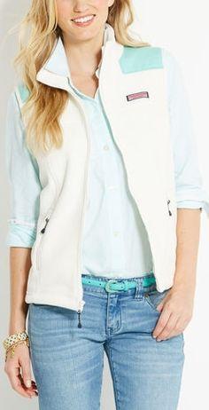 Fleece Shep Shirt Vest   i NEED this