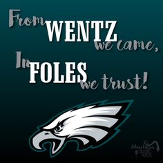 Don't underestimate these underdogs! Fly Eagles Fly! #philadephiaeagles #superbowl #superbowlLII #underdogs #philadelphia #eagles #nfl #foles #wentz #football #philly #eaglesgreen #flyeaglesfly #teamspirit #trust #sports #phillysports #espn #philadelphiasports #fans #cityofbrotherlylove #brotherlylove