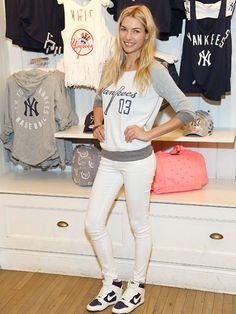 Famous Victoria's Secret Model Jessica Hart.