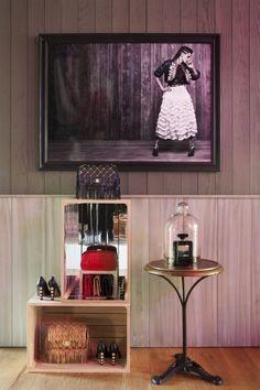 CHANEL: pop-up store in Aspen, Colorado,USA, pinned by Ton van der Veer
