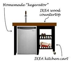 j and l projects: IKEA Hacks- BEKVAM Kitchen Cart