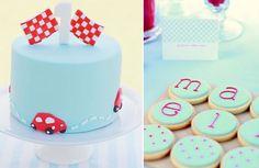 cute car cake