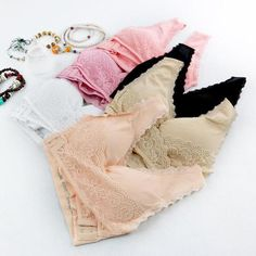 """Are droopy breasts and uncomfortable bras causing you to have bad posture and back pain? If your answer is a resounding, """"Yes"""" then we've got the answer to your problem! The adorable, Seamless Magic Wireless Lift Bra is a lacy and elegant undergarment t Sexy Lingerie, Instant Lifts, Neck And Back Pain, Bad Posture, Cute Bras, Wrinkled Skin, Comfortable Bras, Soft Bra, Breast"""