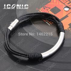 Find More Wrap Bracelets Information about New Arrival Women Stainless Steel Bracelet Jewelry With Magnetic Clasp Genuine Leather Bracelet 2014 Christmas Gift S08,High Quality bracelet pandora,China bracelet lock Suppliers, Cheap bracelet stories from Stainless Steel Jewelry Mall (Factory Direct) on Aliexpress.com