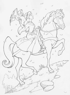 quest for camelot coloring pages - Google Search   Movies/TV Shows ...
