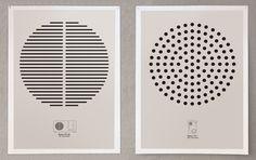 Braun Tribute Posters by Oskar Santamaria, via Behance