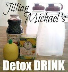 How to Make Jillian Michael's Detox & Cleanse Drink