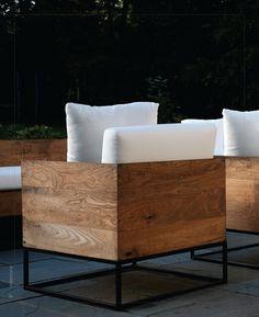 industrial design, walnut, chair tuinstoelen of woonkamer stoelen fatueill