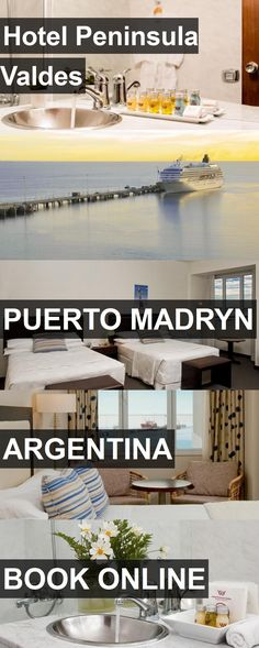Hotel Peninsula Valdes in Puerto Madryn, Argentina. For more information, photos, reviews and best prices please follow the link. #Argentina #PuertoMadryn #travel #vacation #hotel