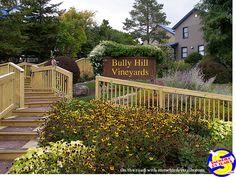 Great food and beautiful views of Keuka Lake at Bully Hill Vineyards of Hammondsport, NY