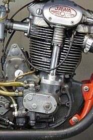 Jawa 1953 racer 500cc 2 cyl ohc