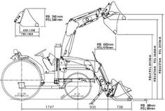 Garden Tractor Loader Plans Free PDF plans for building a