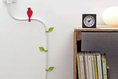 Cord Control: 9 Ways to Organize & Disguise Ugly Wires | Apartment Therapy