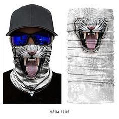 All u need Multifunktionstuch Schal Maske Motorrad Bandana Biking Winter