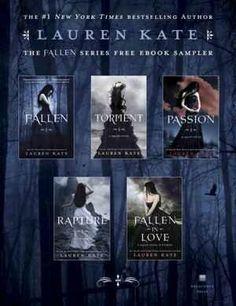 The Fallen Series: Fallen #1, Torment #2, Passion #3, Fallen in Love #3.5 & Rapture #4