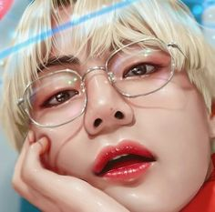 Taehyung Fanart, V Taehyung, Shinee, K Pop, Kpop Drawings, Bts Fans, Kpop Fanart, Bts Pictures, Male Face