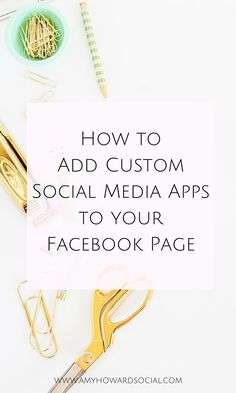 How to add custom social media apps to your Facebook page. Go from the boring social media logos to ones in your brand color scheme in minutes!