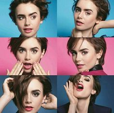 Lily Collins for Lancôme