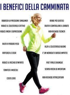 Camminare: tutti i benefici