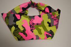Pink Camo  Headband by UltraGam on Etsy
