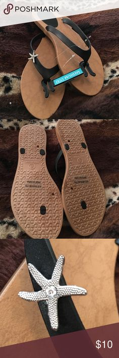 NWT Starfish Sandals Size 7/8 new #30 Shoes Sandals