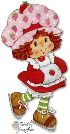 Strawberry Shortcake would be about Strawberry Shortcake Characters, Vintage Strawberry Shortcake, Free Coloring, Coloring Pages, Tarjetas Diy, Cartoon Costumes, Cartoon Tv Shows, Cartoon Characters, Dibujos Cute
