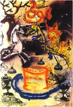 'Alice in Wonderland' by Salvador Dali, 1969 - Retronaut