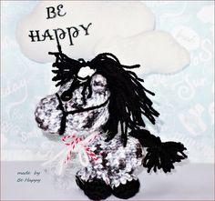 Little PONY amigurumi crochet plush by BeHappyinIceland on Etsy