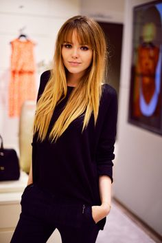 ♡ To bangs, or not to bangs? That is the question.