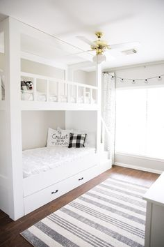 Youngsters Bedroom Furnishings – Bunk Beds for Kids Bunk Beds For Girls Room, Bunk Bed Rooms, Bunk Beds With Stairs, Kid Beds, Full Bunk Beds, Bedrooms, Built In Bunkbeds, Diy Bunkbeds, Cheap Bunk Beds