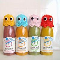 Nanaliciouz: Free pattern: the innocent big knit Pacman ghost hats Amigurumi Patterns, Knitting Patterns, Crochet Patterns, Hat Patterns, Knitting Designs, Knit Or Crochet, Crochet Toys, Big Knits, Knitting For Beginners