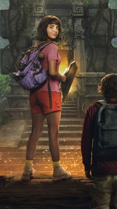 Dora and the Lost City of Gold Wallpaper Full HD Most Beautiful Wallpaper, More Wallpaper, Lost City Of Gold, Film D'action, Isabela Moner, Dora The Explorer, Belly Fat Workout, Fat To Fit, Wonder Woman