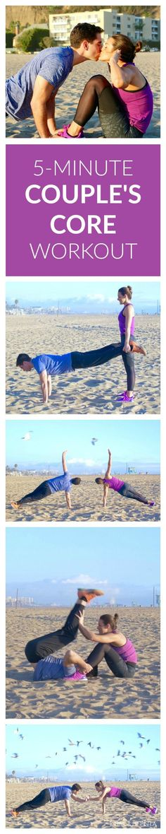 VIDEO: A 5-Minute Couple's  Core Workout  Find more relevant stuff: http://victoriajohnson.wordpress.com