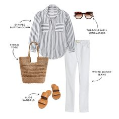 The Everymom's Budget-Friendly Summer 2020 Capsule Wardrobe Capsule Wardrobe Work, Summer Wardrobe, Mom Outfits, Casual Outfits, Everyday Outfits, Elegantes Outfit, Classic Wardrobe, Inspiration Mode, Vogue